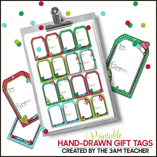 photograph relating to Gift Not Included Printable known as Printable Trip Present Tags