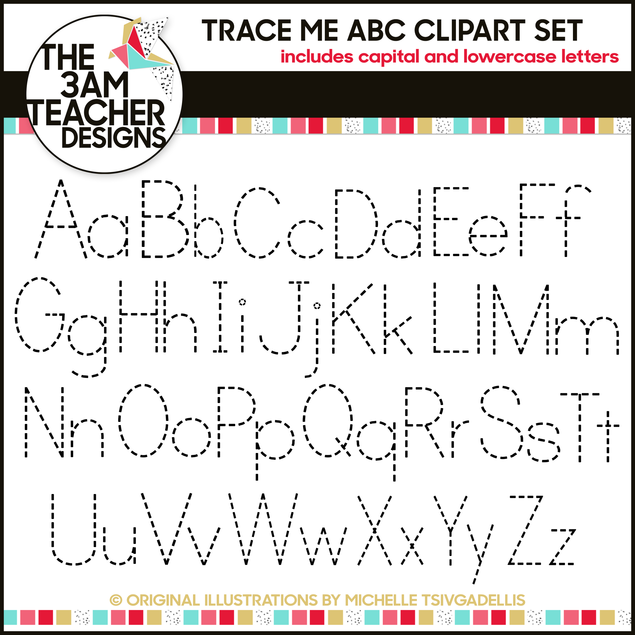 Worksheets Alphabet Tracing A  Z trace me alphabet letters a z